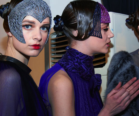 Backstage at London Fashion Week AW13 | Day 1