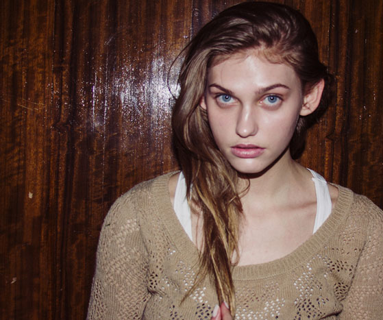 Backstage at London Fashion Week AW13 | The models