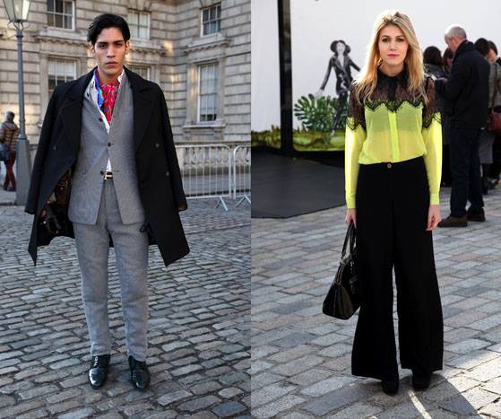 London Fashion Week AW13 | Street Style