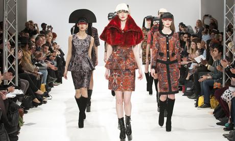 London Fashion Week AW13   Belle Sauvage