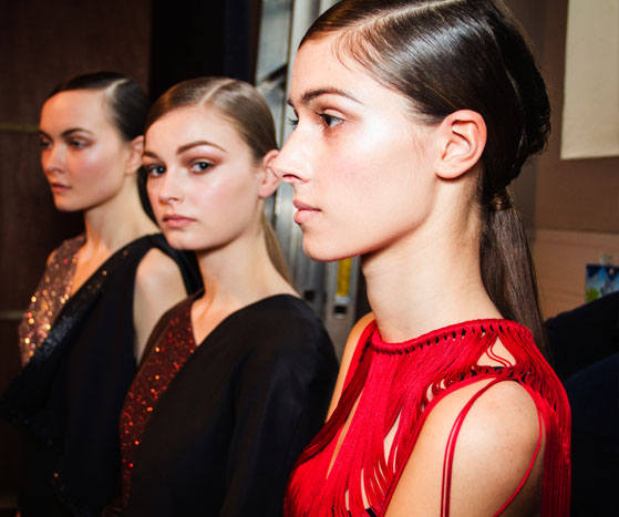 Backstage at London Fashion Week AW13 | Ones to Watch