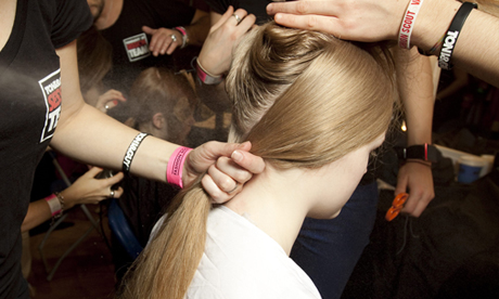 LFW AW13 Backstage | Ones to Watch