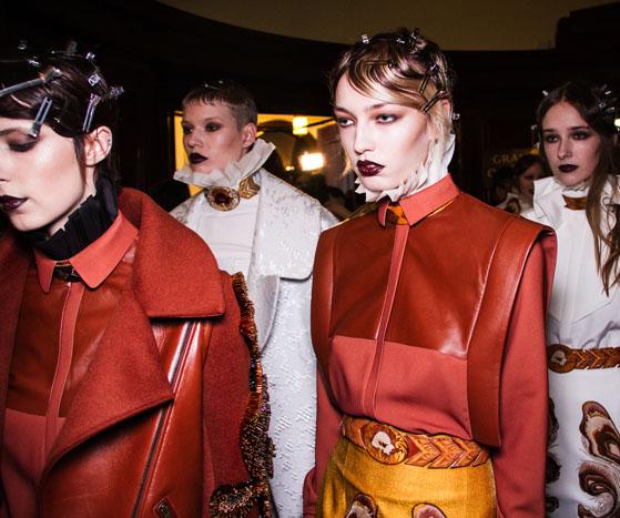Backstage at London Fashion Week AW13 | Zeynep Tosun
