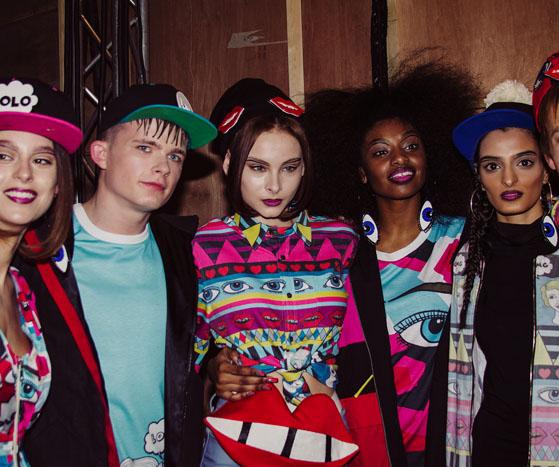 Backstage at London Fashion Week AW13 | Fam Irvoll