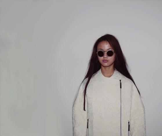 Backstage at London Fashion Week AW13 | Heohwan Simulation