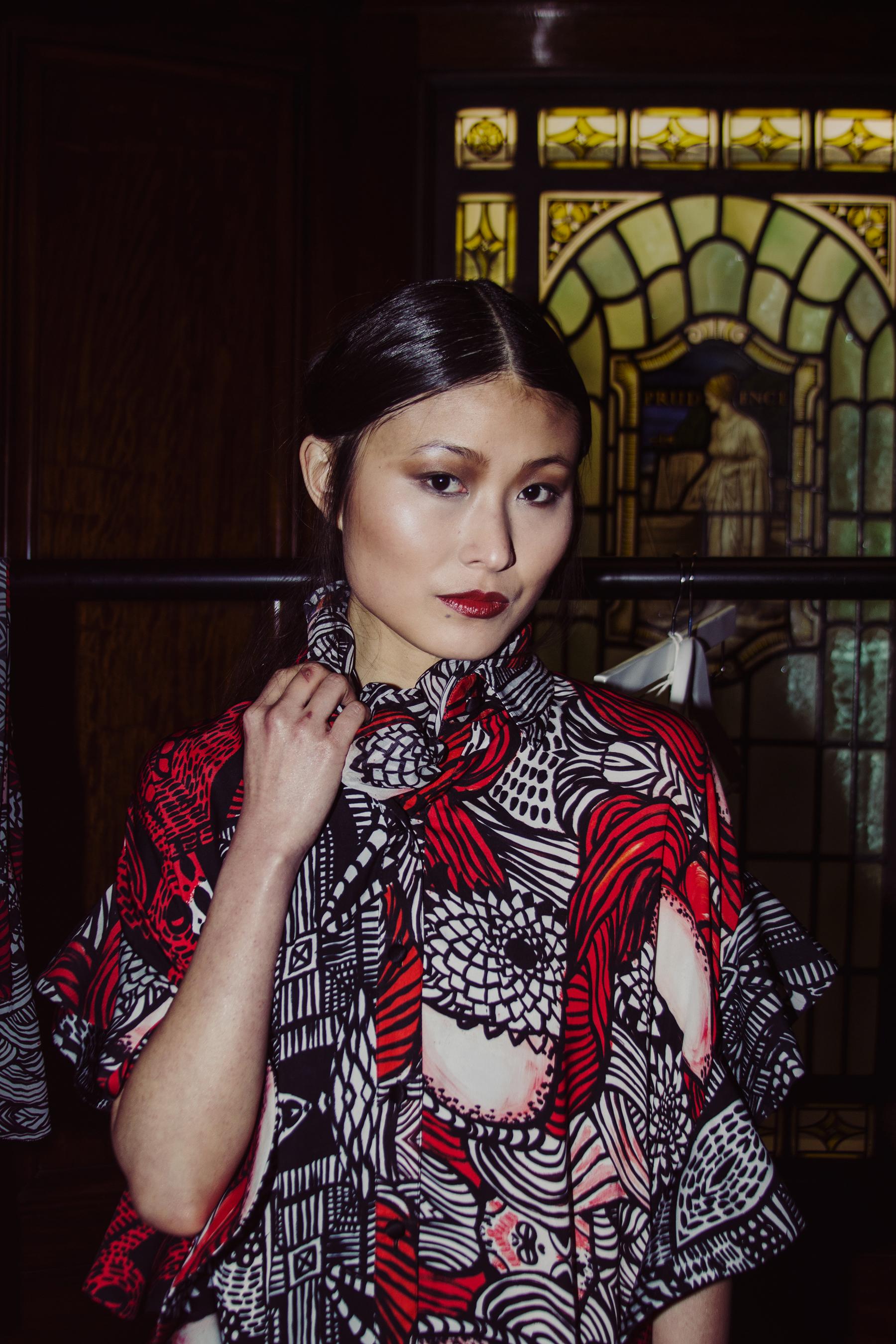 Lulu Liu London Fashion Week