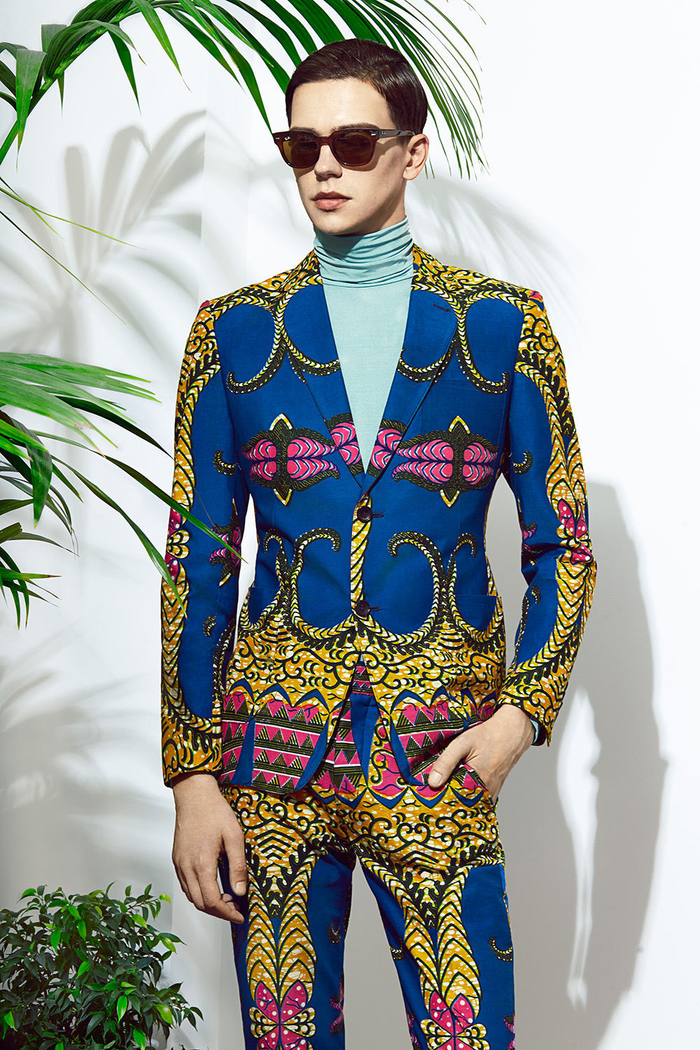 African print suit men african prints kitenge suit for for Virtual suit builder