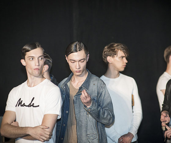 LONDON COLLECTIONS MEN SS14 | Backstage at Xander Zhou