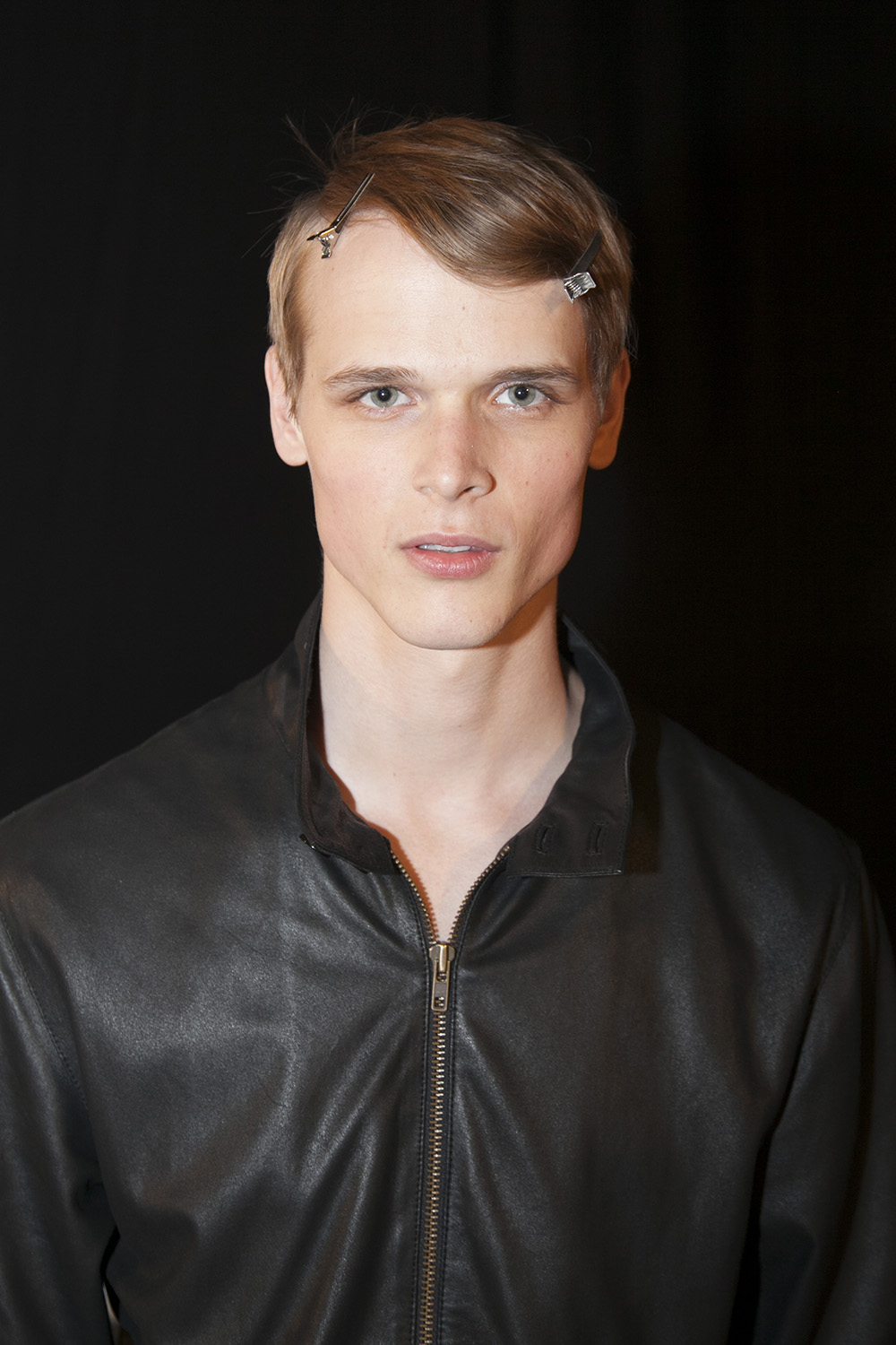 London Collections MEN Val at M+P Backstage at E.Tautz