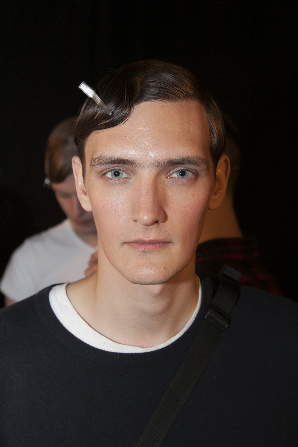 London Collections MEN Yannick Abrath with SUPA Backstage at E.Tautz