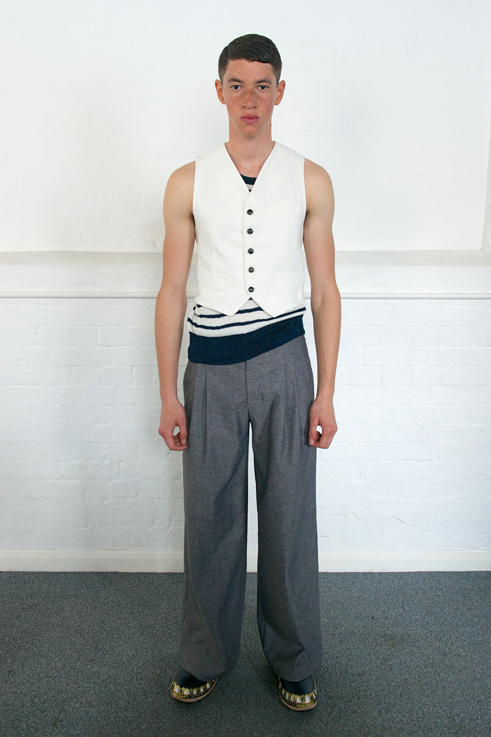 LONDON COLLECTIONS: MEN SS14 | Meadham Kirchhoff