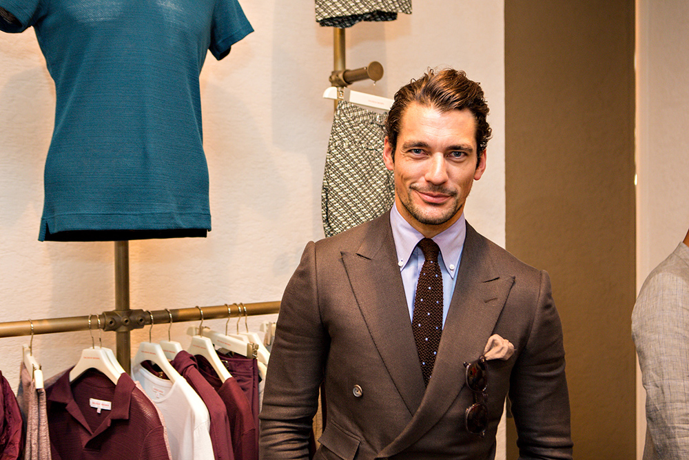 David Gandy Orlebar Brown Spring/Summer 2014