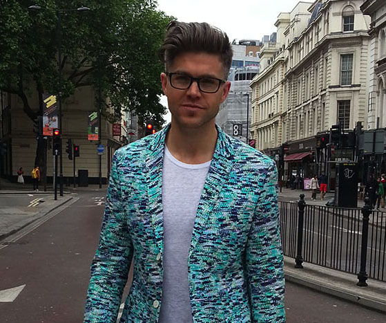 Man about town | Darren Kennedy's style snap on day 1 of LONDON COLLECTIONS: MEN