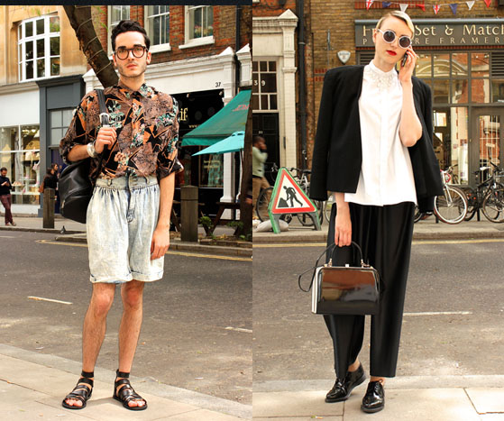 LONDON COLLECTIONS: MEN SS14 | Street Style
