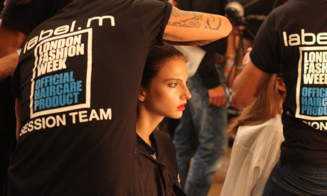 LFW SS14 Backstage | Ashley Isham