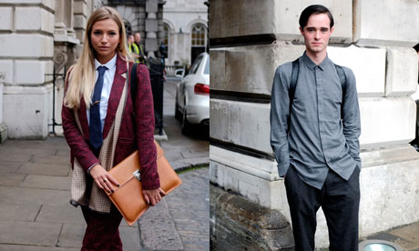 LFW SS14 Street Style | Day One