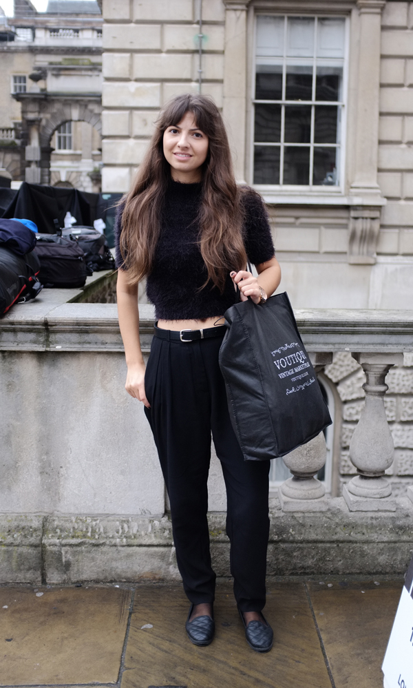 LFW SS14 Street Style | Day One: Laura Shehata