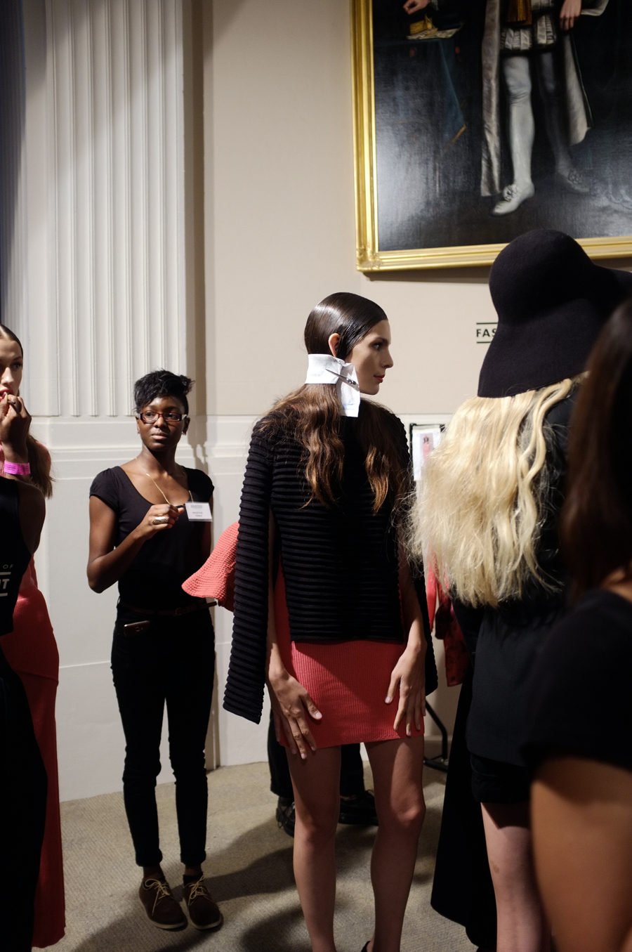 PHOENIX Magazine Backstage at Apu Jan LFW Spring Summer 2014_05