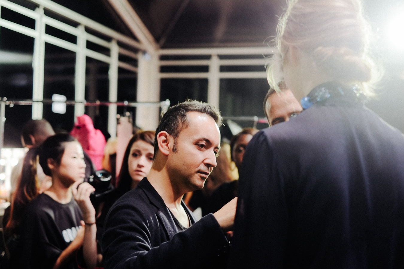 PHOENIX Magazine Backstage at Bora Aksu Spring Summer 2014_09