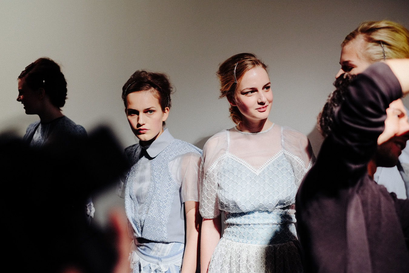 PHOENIX Magazine Backstage at Bora Aksu Spring Summer 2014_14