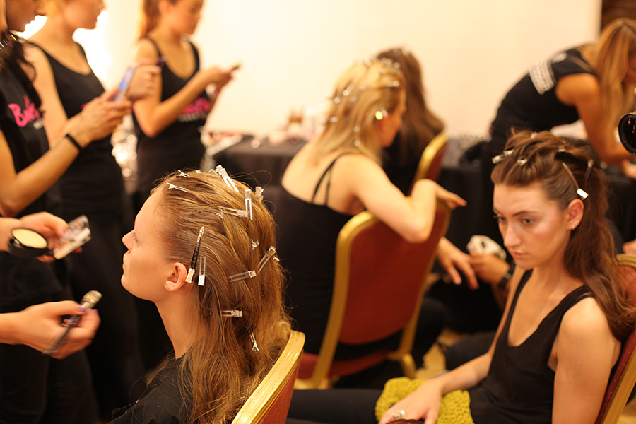 PHOENIX Magazine Backstage at Ones 2 Watch LFW Spring Summer 2014_01