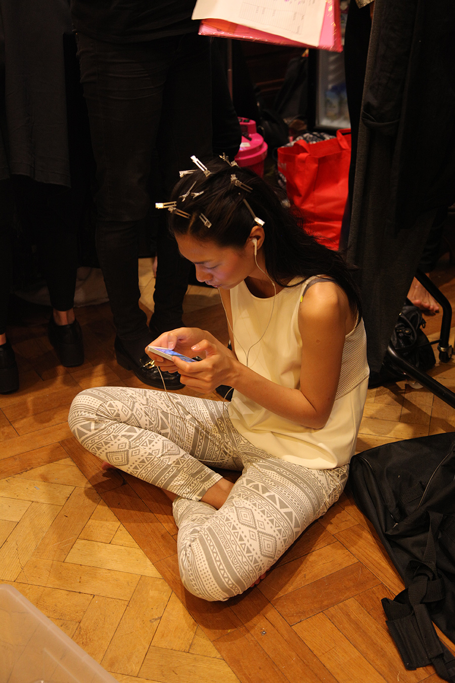 PHOENIX Magazine Backstage at Ones 2 Watch LFW Spring Summer 2014_05