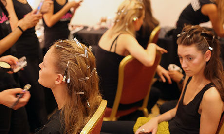 LFW SS14 Backstage | Ones To Watch