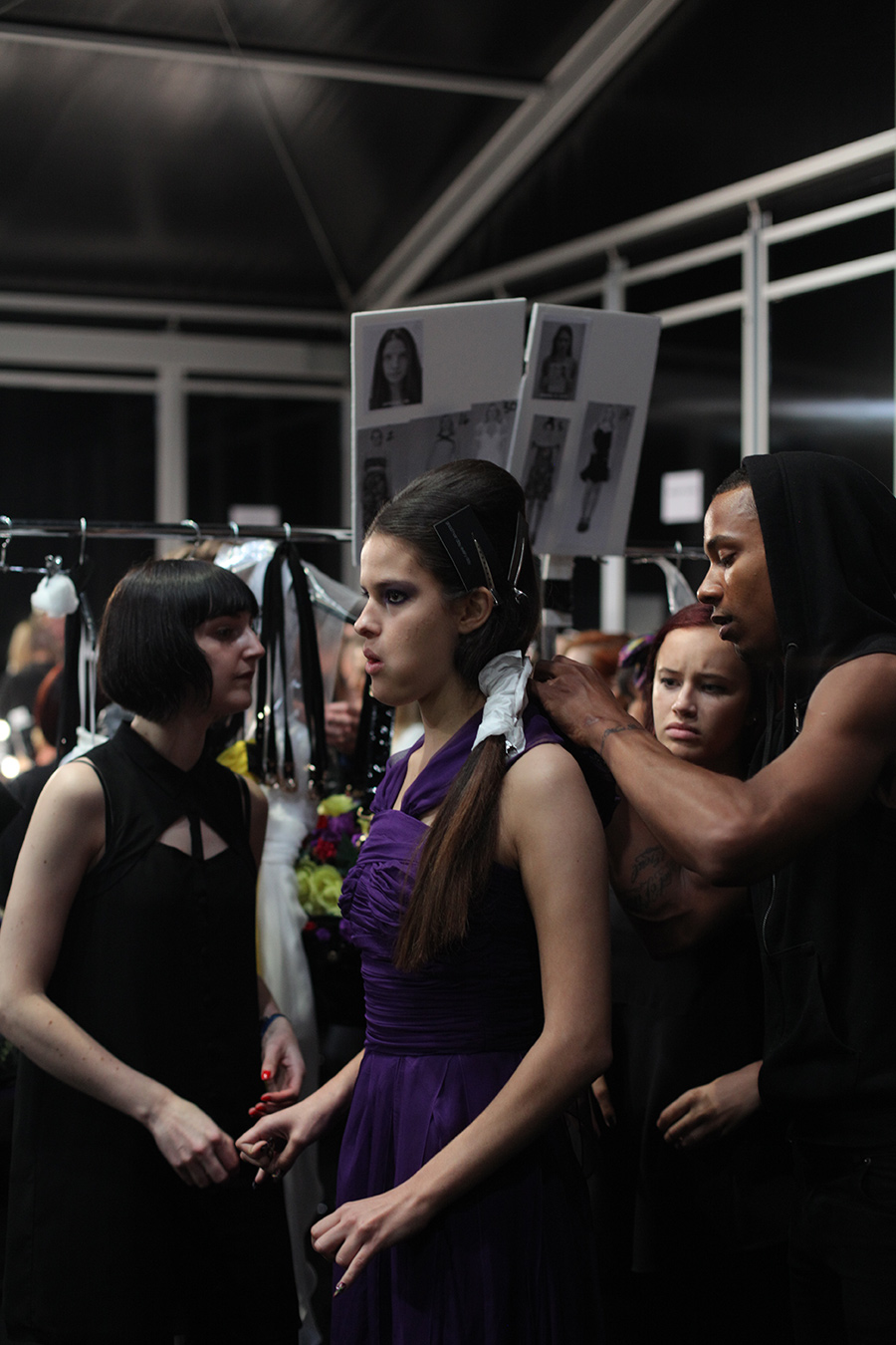 PHOENIX Magazine Backstage at PPQ LFW Spring Summer 2014_03