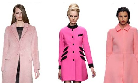 AW13 Trend | The Pink Coat