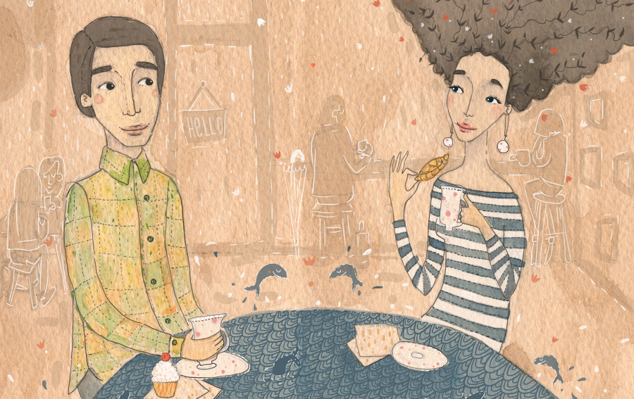girl-boy-coffee-viktorija-semjonova-illustration copy