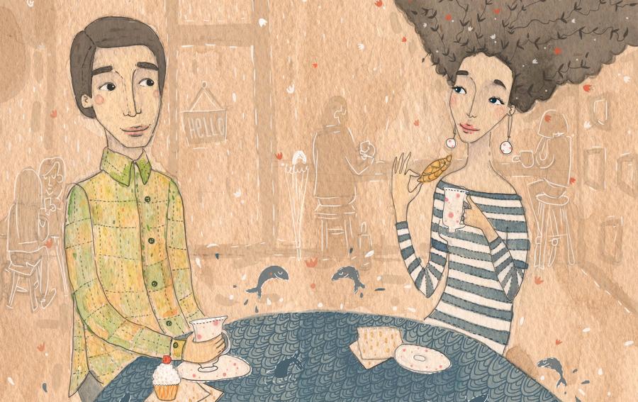 girl-boy-coffee-viktorija-semjonova-illustration copy