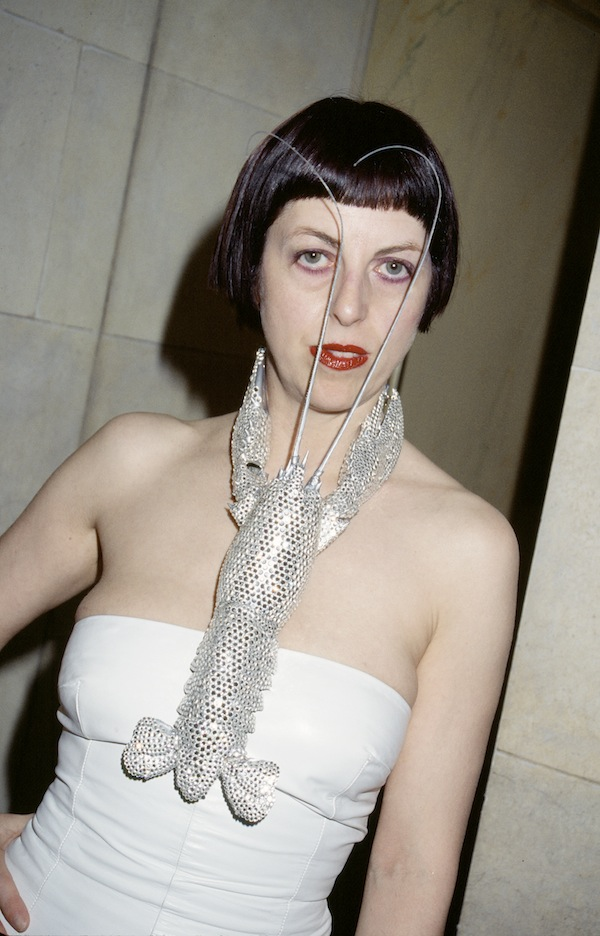 Isabella Blow at the American Embassy, 1998 (c) Roxanne Lowit
