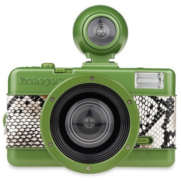 Lomography fisheye python print camera
