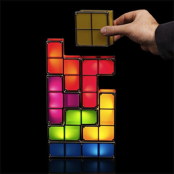 Tetris desk light