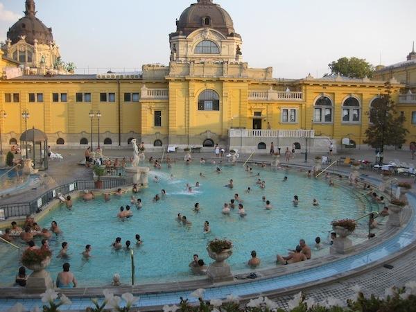 Budapest baths, Jenny McFarlane