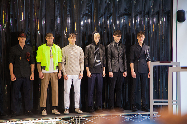 Huntergather AW14 Backstage comissioned by PHOENIX magazine