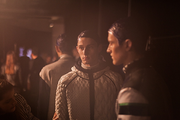 James Long A/W 2014 Backstage - comissioned by PHOENIX magazine