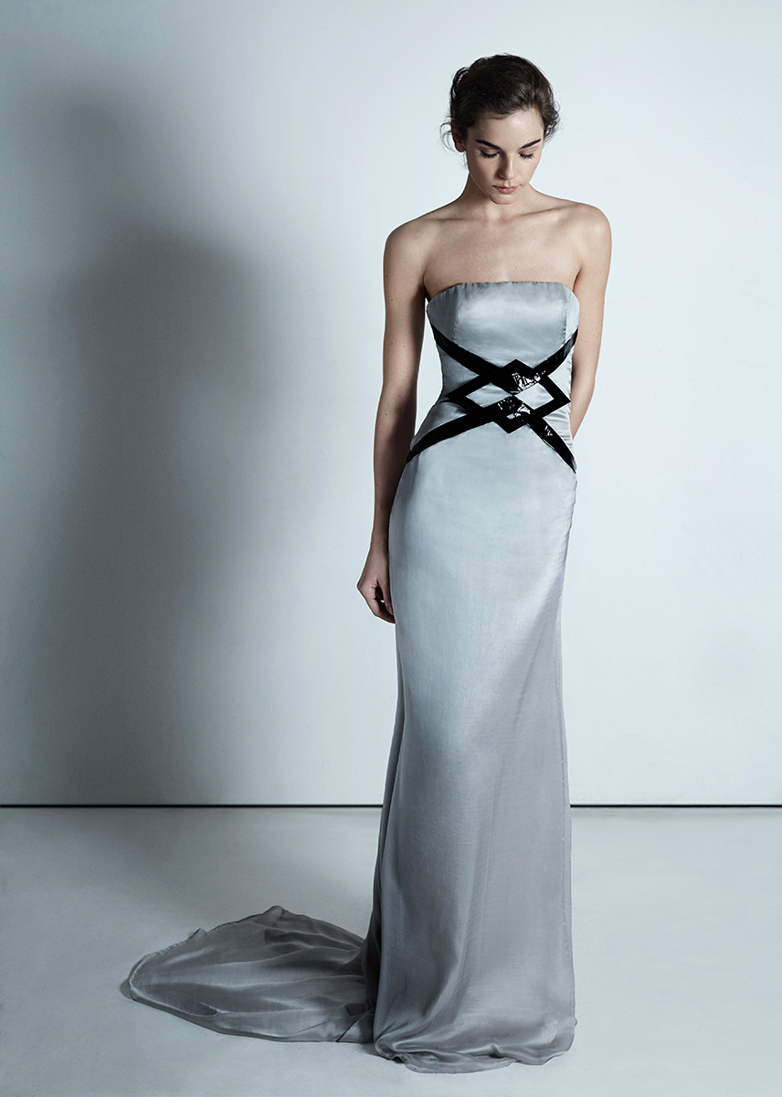 21 Moonstone Silver Dress