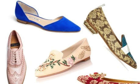 Ditch Your Heels In Favour Of The Characterful Flat