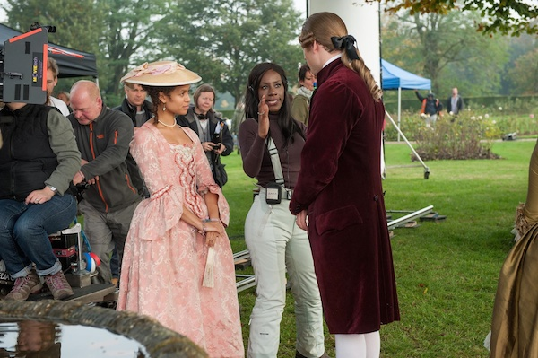 xx Amma Asante - Behind the Scenes pic