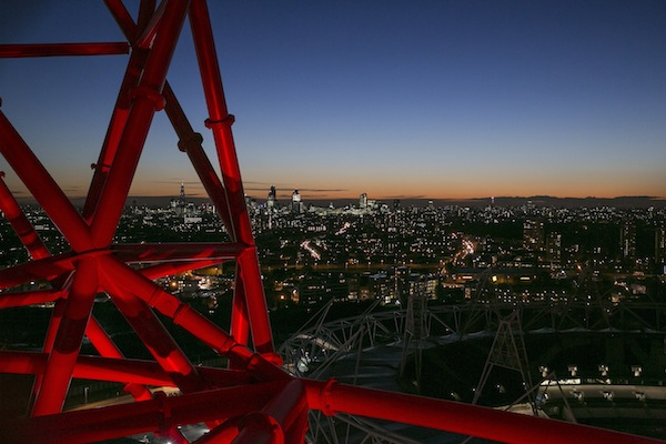 Night View from ArcelorMittal Orbit (high res 2)