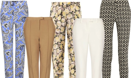 5 Of The Best… Cigarette Cut Trousers