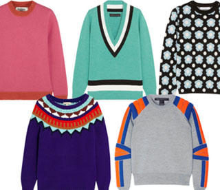 5 Of The Best: Colourful Knits