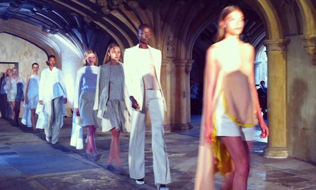 LFW SS15 Day 3 | Baroque Arches, BA Grads And Botanic Prints