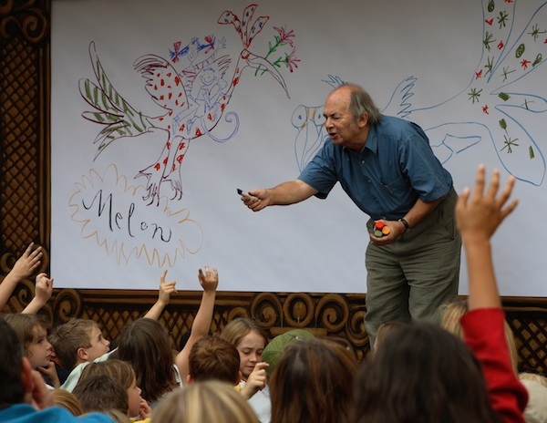 Quentin Blake at Somerset House
