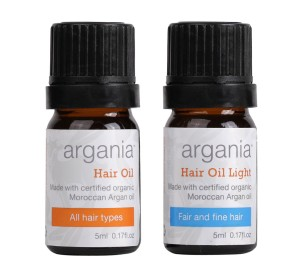 Argania Small Hair Oil & Hair Oil Light