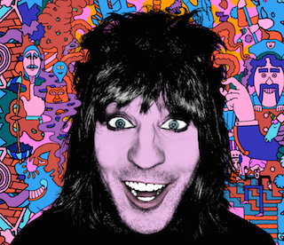 A Mighty Weird Mashup: Noel Fielding's New Comedy Tour