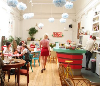 London Cafés Where You Can Buy Other Cool Stuff