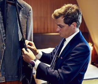Two-Wheeled Tailoring At Threadneedles Hotel