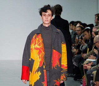 London Collections: Men AW15 | Day 2 | Neckerchiefs, Cityscapes & Primary Colours